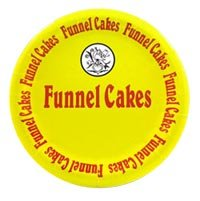 Funnel Cake Plates  (100 count)