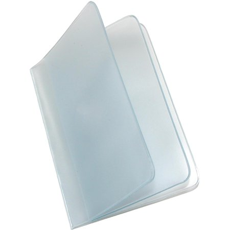 Size one size Vinyl Window Inserts for Bifold and Trifold Wallets (Pack of 2) (Tall Wallet Insert)