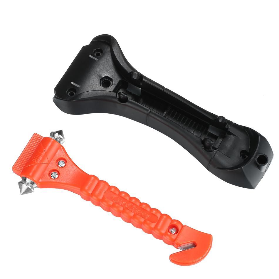 Lowest Price ever ! Car Auto Emergency Safety Hammer Belt Window Glass Breaker Punch Cutter Bus Escape Rescue Tool Kit Survival Gear YASTE