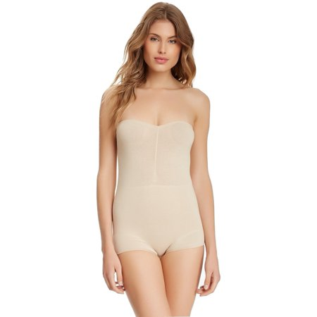 635a3b3551db4 Skweez Couture - Skweez Couture Strapless Shaping Bodysuit Shapewear By Jill  Zarin - Walmart.com