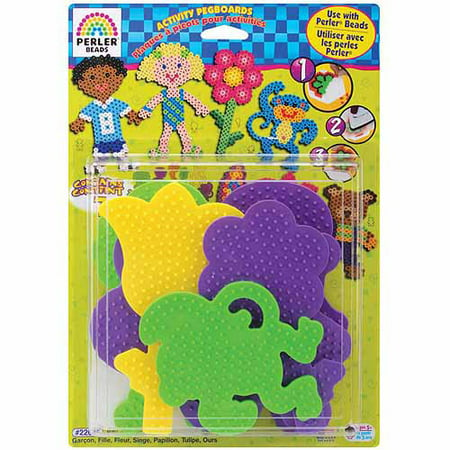 Perler Fuse Bead Activity Peg Boards