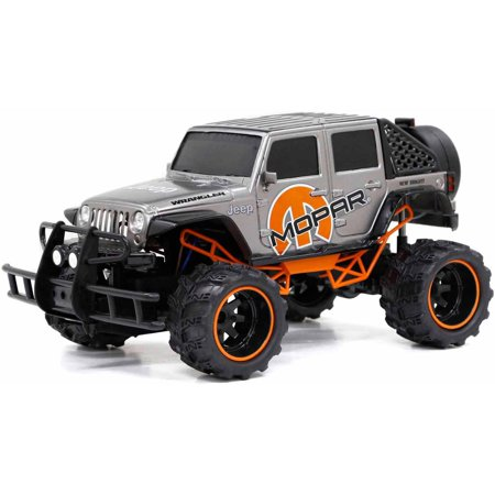 6.4V Baja Extreme Mopar 4-Door Jeep Full Function Radio-Controlled Vehicle ()