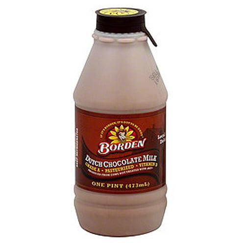 Borden Dutch Chocolate Milk, 8 Fl. Oz.