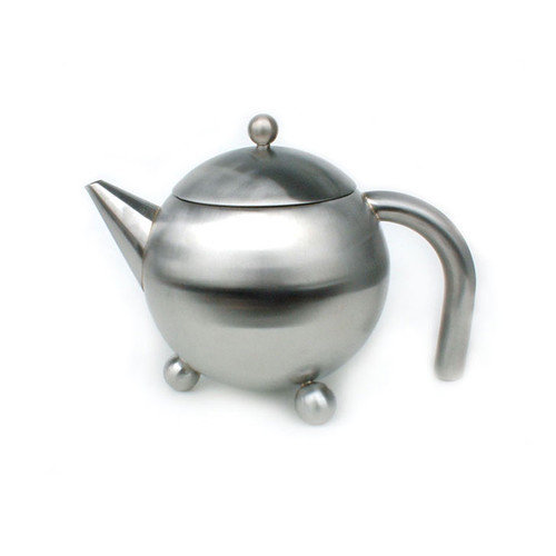 Cuisinox 0.38-qt. Footed Teapot with Infuser