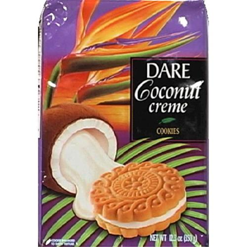 Cookie Coconut Creme -Pack of 12