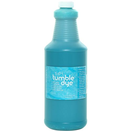 Tumble Dye Craft & Fabric Paint 1qt-Turquoise