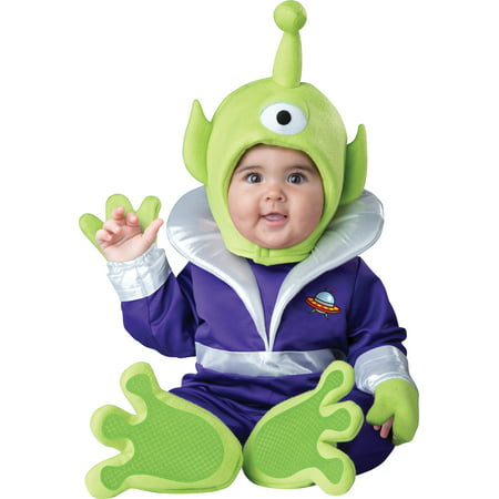 Infant Mini Martian Alien Costume by Incharacter Costumes LLC 6063