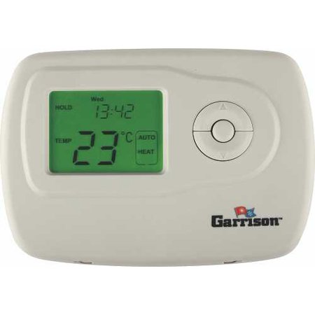 Garrison Digital Thermostat, 2 Stage Heat/Cool - 2 Stage Programmable Thermostat