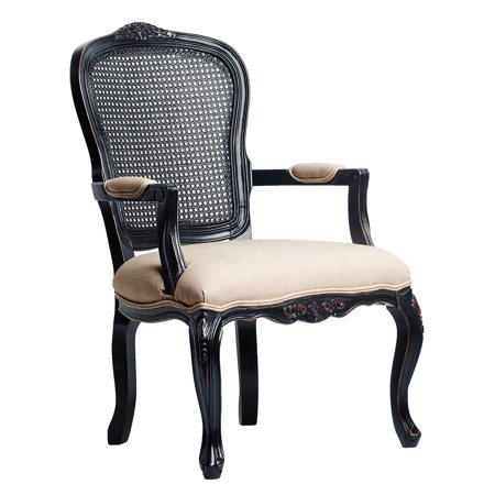 Comfort Pointe Ayla Upholstered Carved Accent Chair