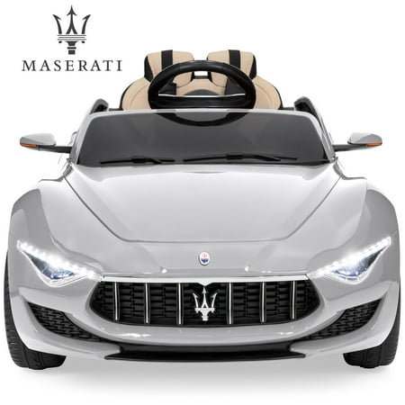 Best Choice Products Kids 12V Maserati Alfieri Ride On car with RC, 3 Speeds, Trunk, Media