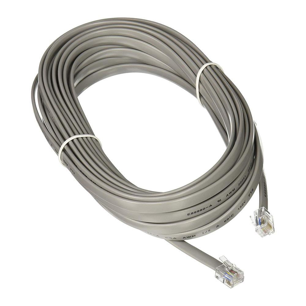 C2G 08133 RJ12 Modular Telephone Cable (25 Feet)