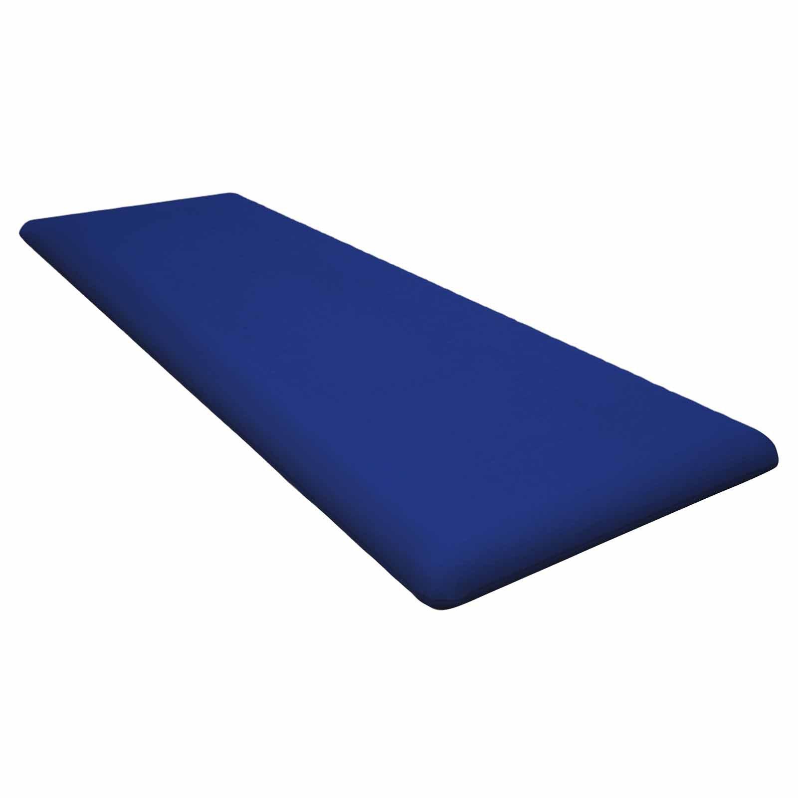 POLYWOOD® Sunbrella 55.5 x 18.5 in. Bench Seat Cushion
