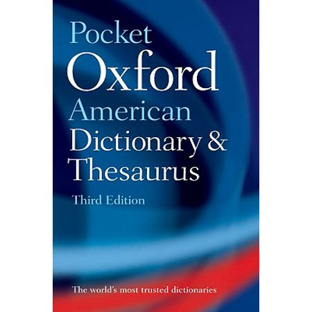 Pocket Oxford American Dictionary and Thesaurus - Oxford Mini Dictionary