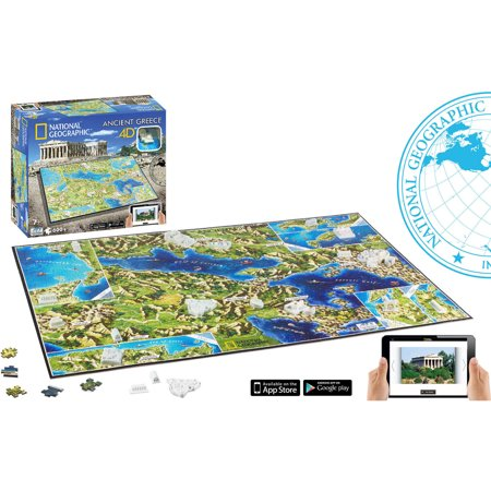 4D National Geographic Ancient Greece Jigsaw Puzzle