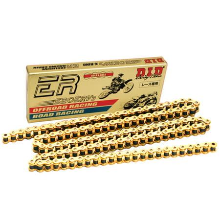 D.I.D 520ERV3-120 LINK 520 ERV3 Series Racing Sealed Chain - 120 Links - Gold
