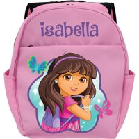 Personalized Dora and Friends Let's Go Pink Toddler Backpack
