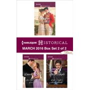 Harlequin Historical March 2016 - Box Set 2 of 2 - eBook