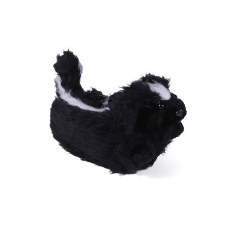 Happy Feet Mens And Womens Skunk Animal Slippers