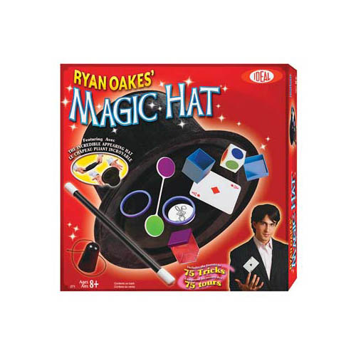 Ideal Classics Ryan Oakes Collapsible Magic Hat Set