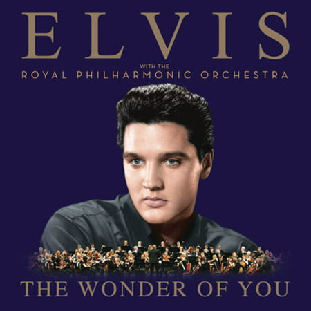 The Wonder Of You: Elvis Presley With The Royal Philharmonic Orchestra (Vinyl) - Elvis Presley Party Supplies