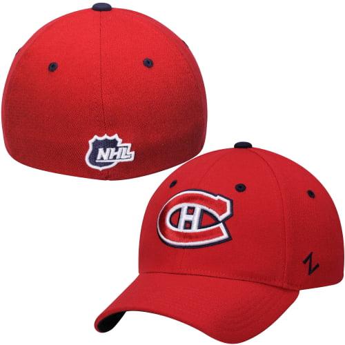 Montreal Canadiens Zephyr Breakaway Flex Hat - Red