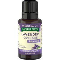 Nature's Truth, 100% Pure Lavender Essential Oil, Aromatherapy
