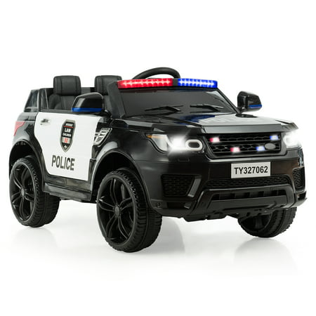 Costway Kids 12V Electric Ride On Car with Remote Control Bluetooth Black - image 8 of 8