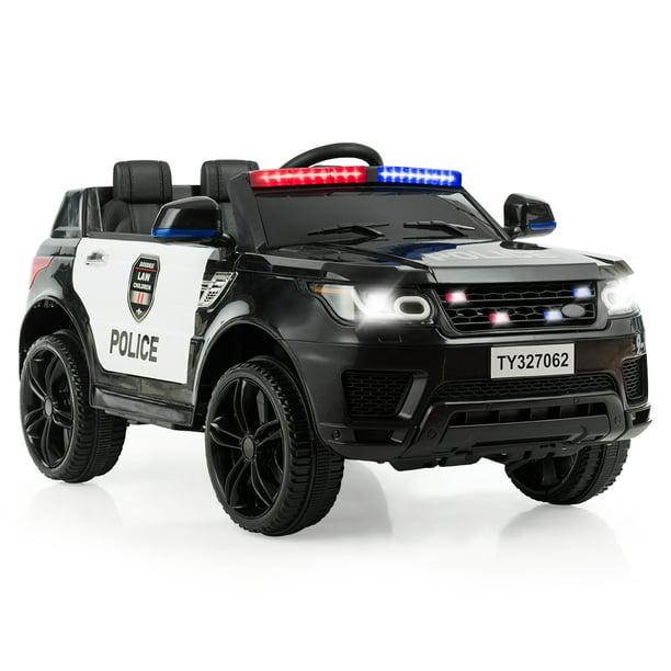 Costway Kids 12v Electric Ride On Car With Remote Control Bluetooth Blackwhite Walmart Com Walmart Com