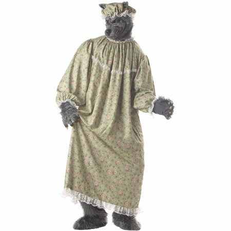 Men's Wolf Granny Costume](Bad Wolf Costume)