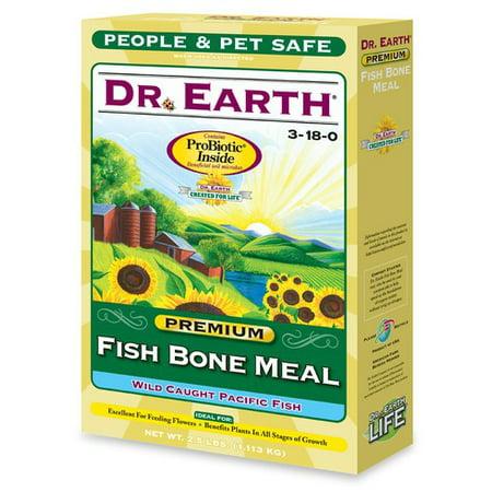 Dr earth 719 fish bone meal organic 9 4 1 2 lb box for Fish bone meal