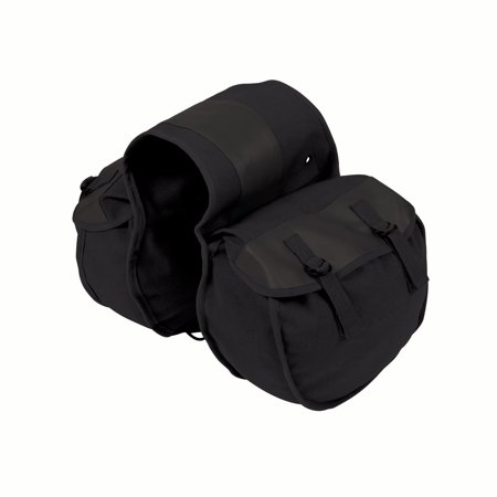 Stansport Saddle Bag - Black Canvas