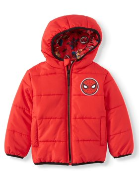 Marvel Spider-Man Toddler Boy Winter Jacket Coat