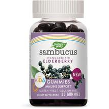 Vitamins & Supplements: Nature's Way Sambucus Elderberry Kid's Gummies