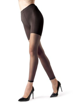 fc366bc1cbdab Product Image MeMoi Sheer Footless Capri Shaping Tights | Women's Pantyhose  - Nylons Large / Honey MM 226