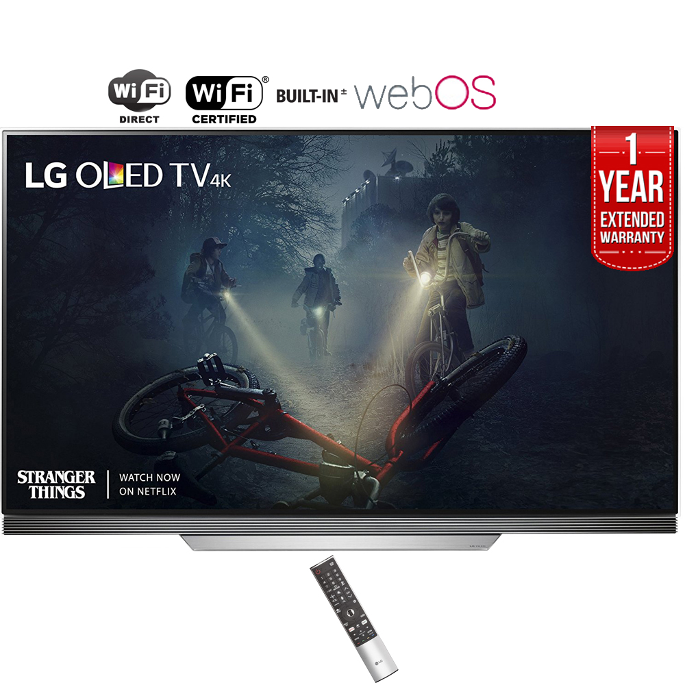 """Refurbished LG 65"""" Class Picture on Glass 4K (2160P) Smart OLED TV (OLED65E7P) + 1 Year Extended Warranty"""
