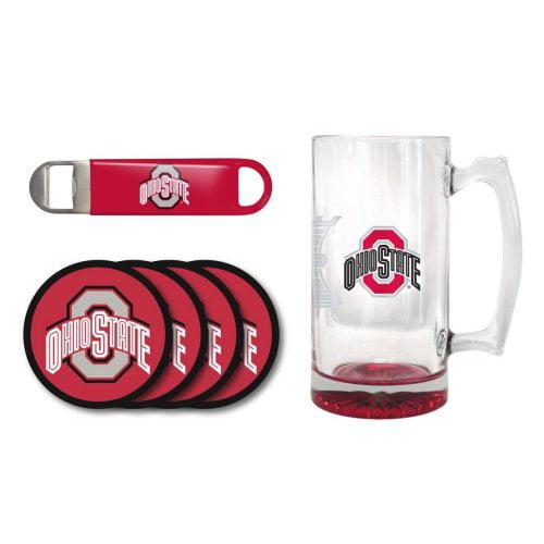 OSU Buckeyes 25 oz. Beer Mug Gift Set by