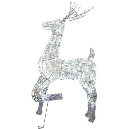 Wire Frame 48 In Buck Christmas Prop Village Contest Lights Show Decor - Office Halloween Decorating Contest