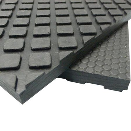 rubber cal maxx tuff floor protection mats 1 2 thick