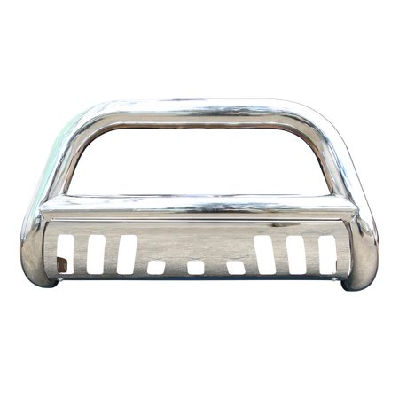 WALFRONT Chrome Front Bull Bar For Dodge Ram 1500 2009-2018 Brush Push Grille Guard,Bull Bar, Bull Bar (Dodge Ram Brush Guards And Bull Bars)