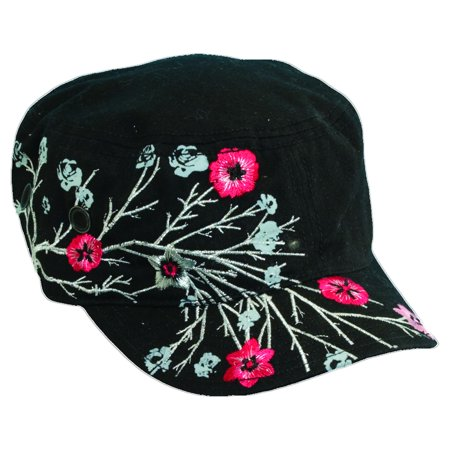 Dorfman Pacific Women's Cotton Military Summer Fashion Cadet Hat