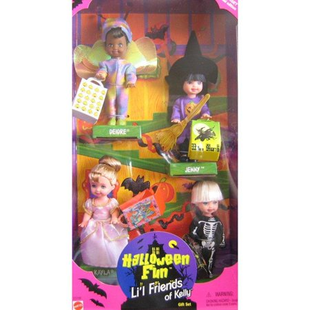 Barbie KELLY Halloween Fun Lil Friends of Kelly Gift Set - Target Special Edition (1998) - Halloween Barbie Target