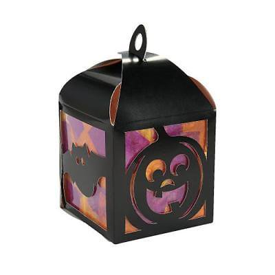 IN-13747663 3D Halloween Tissue Lantern Craft Kit
