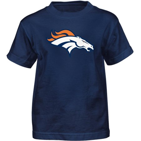 - Denver Broncos Preschool Team Logo Short Sleeve T-Shirt - Navy Blue