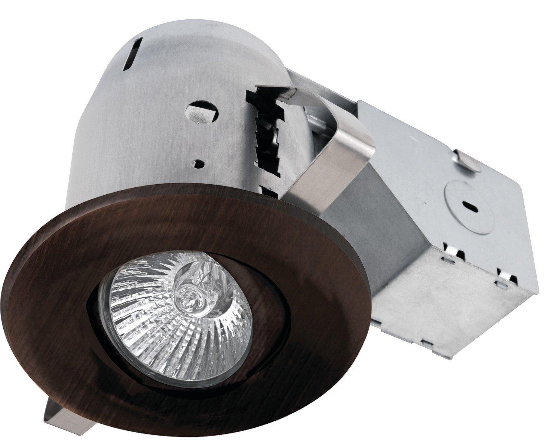 3 U0026quot  Swivel Spotlight Recessed Lighting Kit Dimmable