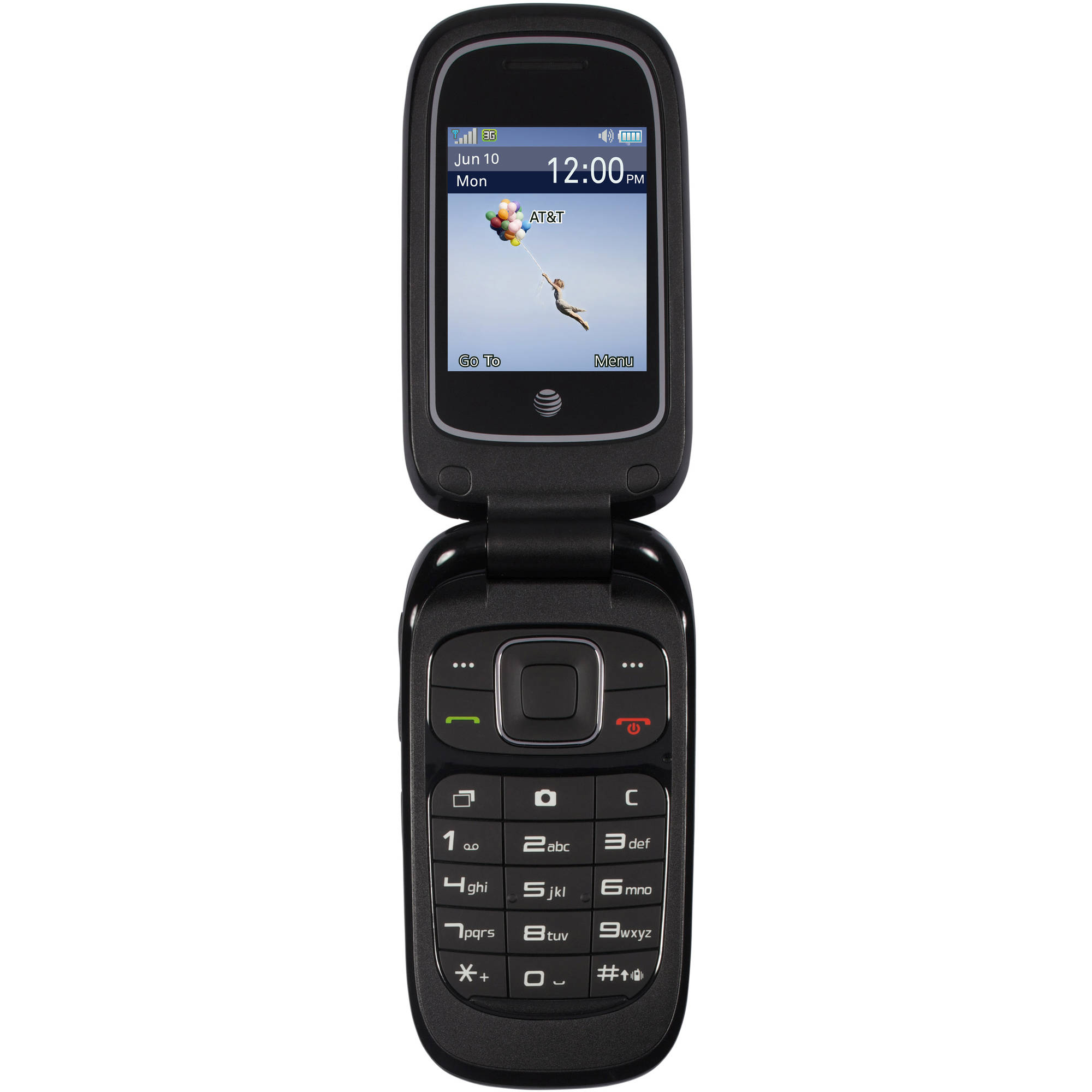 Get connected with the Kyocera Rally T-Mobile Prepaid Cell Phone. It features a compact, sleek, ergonomic design that is easy to use. This T-Mobile cell phone comes in an attractive graphite gray for a professional look.