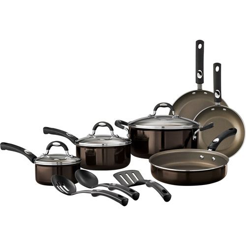 Tramontina 12-Piece Style Nonstick Cookware Set, Bronze