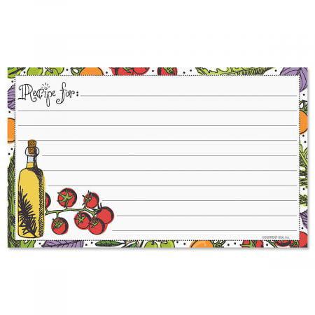 Veggie Recipe Cards- 3