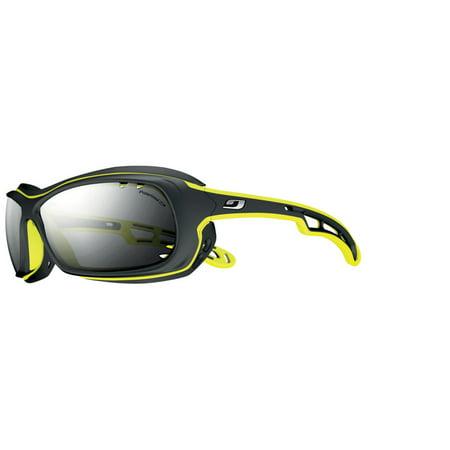 bb69b3aaae4 Julbo - 4429114 Black yellow With Polarized 3+ Lenses Wave Sunglasses -  Walmart.com