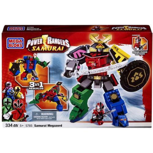 Mega Bloks Power Rangers Samurai Samurai Megazord Set #5785