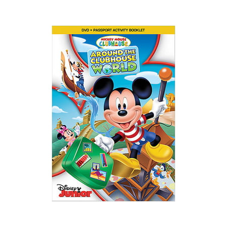 Mickey Mouse Clubhouse: Around the Clubhouse World (DVD) (Morse Dvd Set)